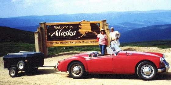 MGA with trailer attached