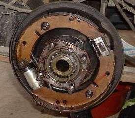 Converting MGA to MGB rear brakes