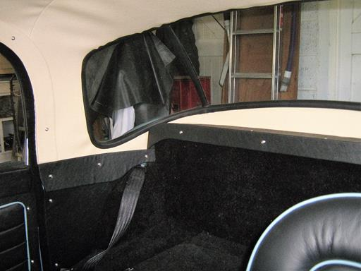 Rear Trim Panels For The Mga 1600 Coupe