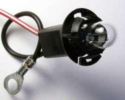 Dash Lamp Holder Substutute Plastic Socket