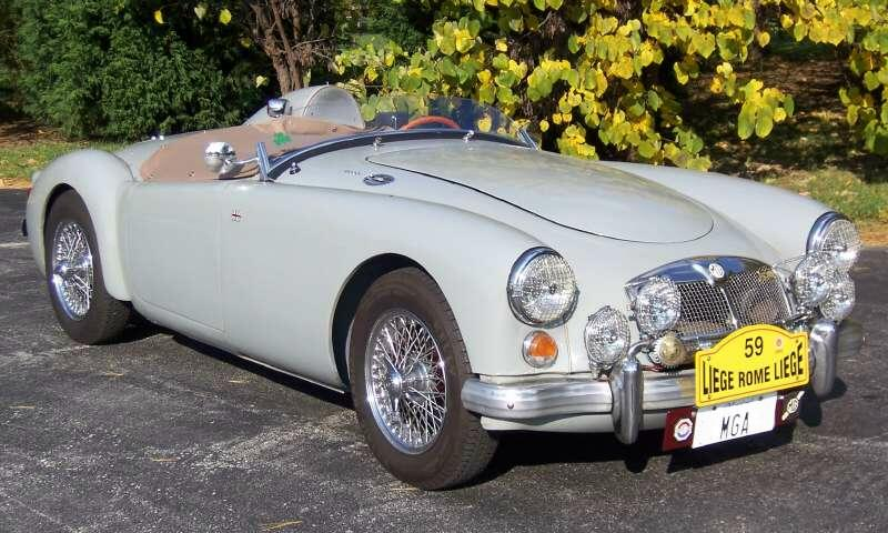 Car Paint Colors >> LIGHT COLORS for MGA