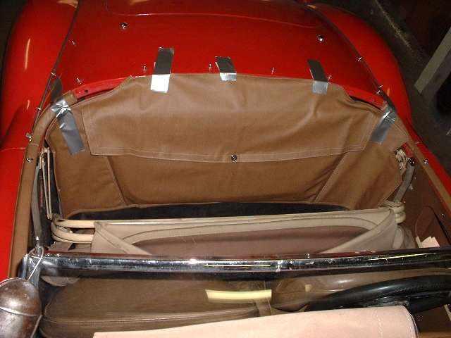 How To Buff A Car >> MGA Interior Tech - Cockpit rear rail and side curtain stowage bag