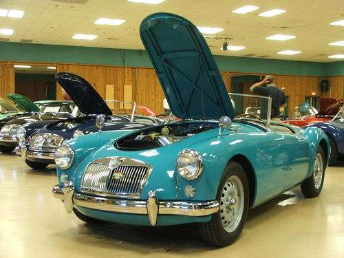 Factory Colors Mga 1500 And Twin Cam Roadster