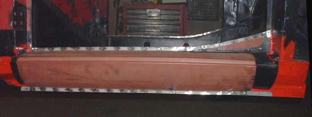 How Much Is A Car Paint Job >> Body Sill Replacement, rocker panel installation, a touch ...