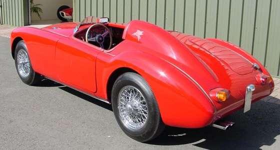 Hard Roll Up Tonneau Cover >> Modified MGA cars - MGA-Judson